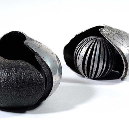 Shell Forms 1982/4 Aluminium 14cm