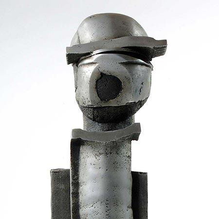 Number Two of the Brotherhood 1988 Aluminium 86cm