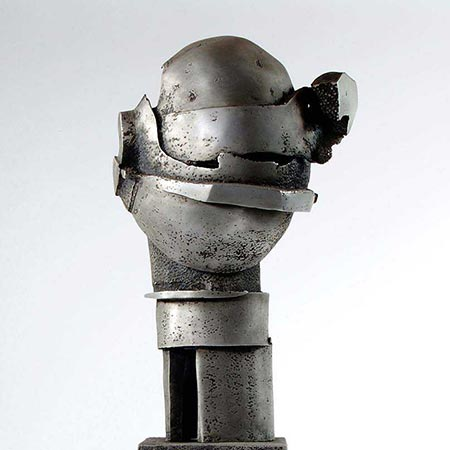Number Three of the Brotherhood 1988 Aluminium 90cm