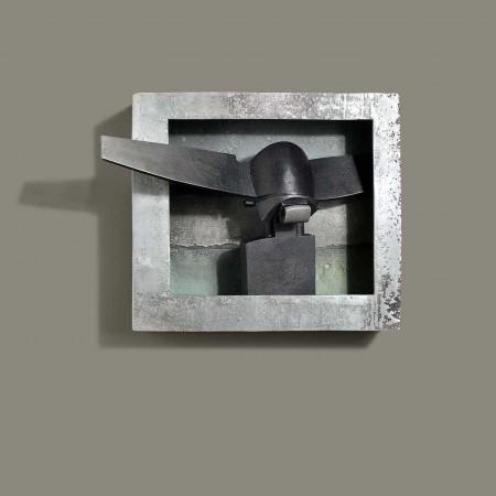 Venitian Head (King) 2004 Aluminium 44cm
