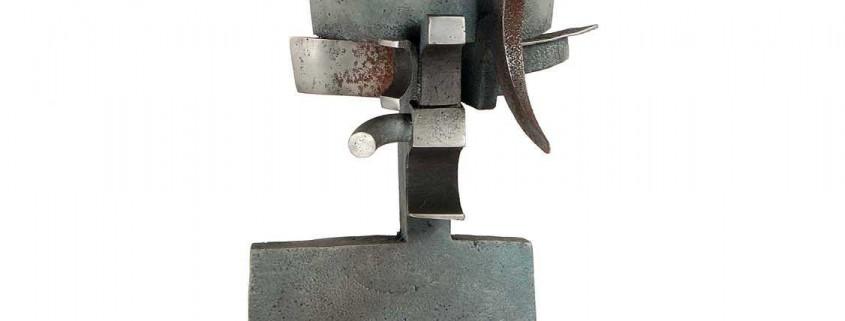 Venitian Head (Queen) 2004 Aluminium 2.0m