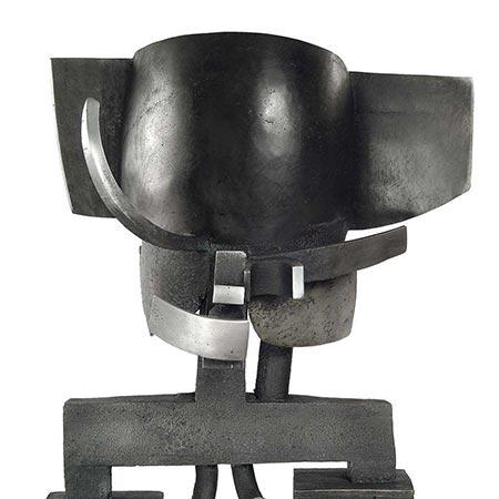 Venitian Head (King) 2004 Aluminium 2.0m