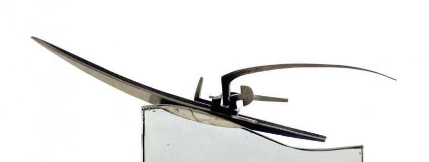 This is the Life 2005 Aluminium / Glass 45cm
