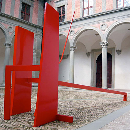 Rosso (Red Wedding) 2008 Aluminium 3.0m