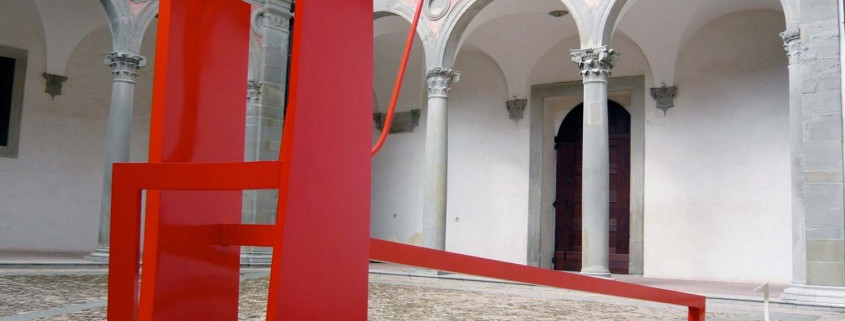 Rosso (Red Wedding) 2008 Aluminium 3.0m