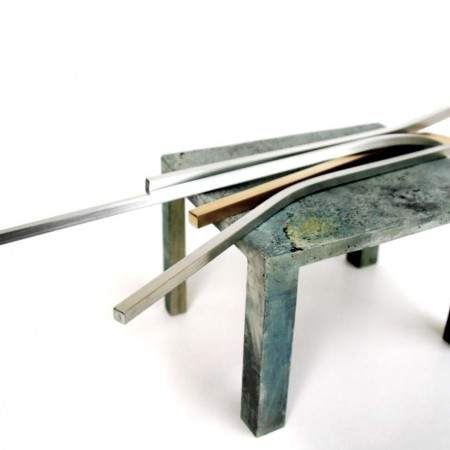 Loose Ends 2009 Aluminium / Brass / Steel 12cm