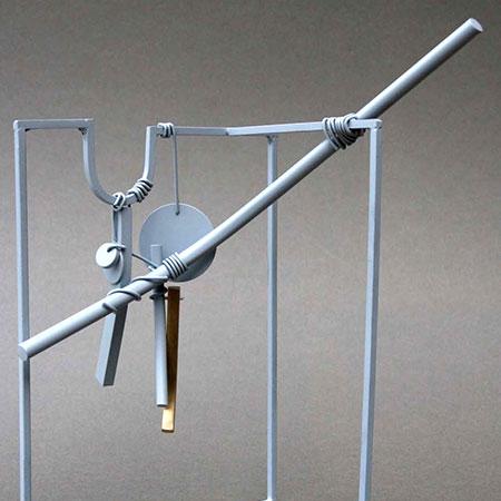 Souvenirs 2010 Aluminium / Steel / Brass 22cm