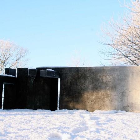 Muro 2008 Aluminium 1.1 x 3.5m