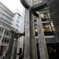 Gateway, New Fetter Lane, London (Detail) 2011/14 Aluminium 4.5m