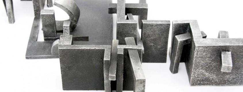 Lifestyle (Maquette) 2006 Aluminium 4.0cm