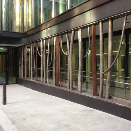 Espalier, St James's, London 2011/14 Aluminium 3.0 x 20.0m