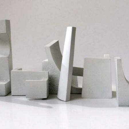 Making Time 2012 Aluminium / Painted 12cm
