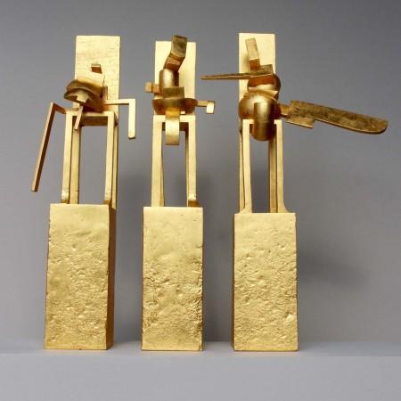 The Set 2014 Aluminium / Gilded 72cm