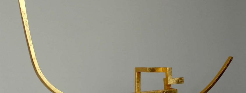 Sol Tilbeder 2014 Aluminium / Gilded 40cm